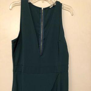 Green jumpsuit-size L